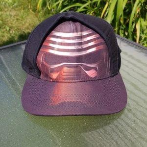 Star Wars hat ballcap black red